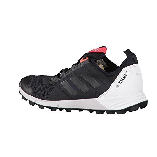 adidas Terrex Agravic Speed W, Botas de Montaña para Mujer Negro (Nero Negbas/negbas/ftwbla)