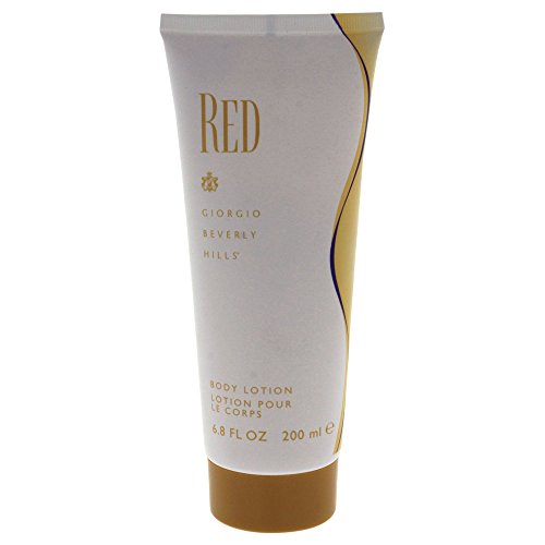 Giorgio Beverly Hills Body Lotion for Women, Red, 6.8 Ounce ()