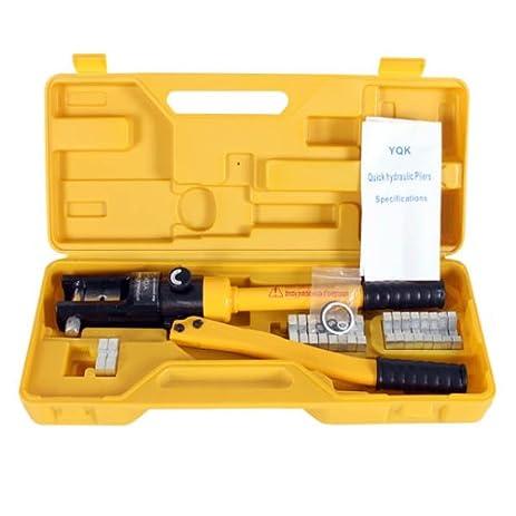 High Precision 16 TON Hydraulic Crimping Press Cable Wire Crimper ...