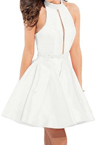 Missdressy - Robe - Femme -  blanc - 50