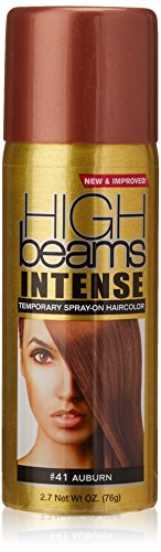 high beams Intense Temporary Spray on Hair Color, Auburn, 2.