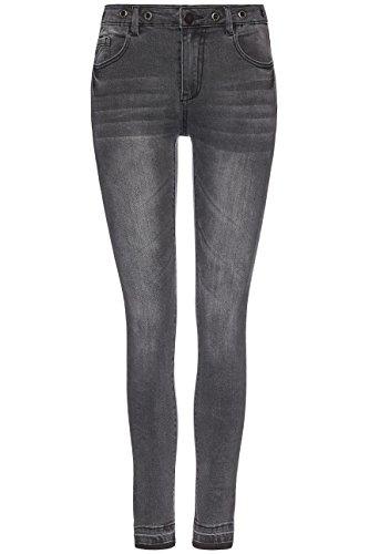 Donna Nero black Skinny Jeans Find Regular Vita z6Wqv