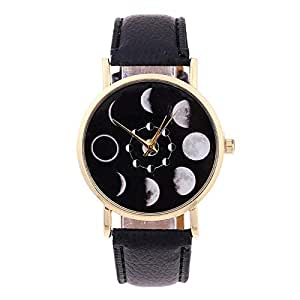 Casual Watch For Unisex Analog PU Leather - 64QW027