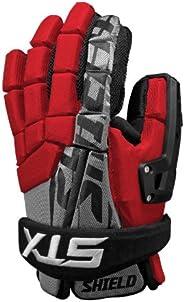 STX Shield Goalie Gloves - Large - Black