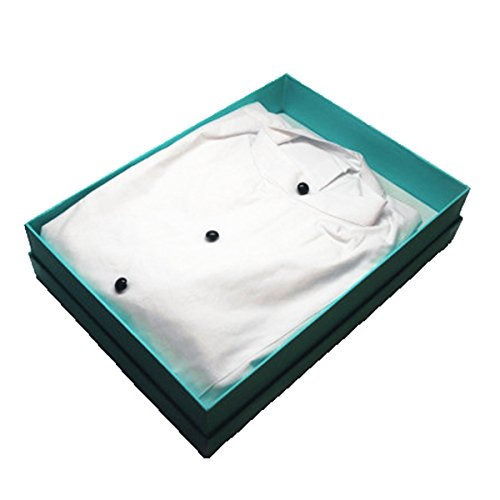 [Tuxedo Sleep Shirt, Audrey Hepburn Breakfast at Tiffany's, Cotton, White (petite with gift box)] (Tiffany Box Costume)