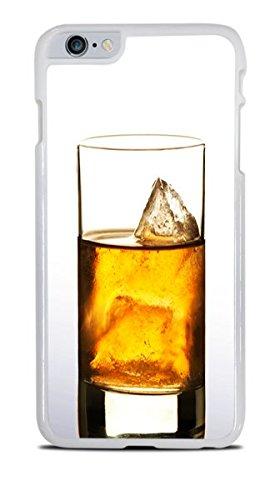 (Whiskey on the Rocks White Hardshell Case for iPhone 6+ (5.5))