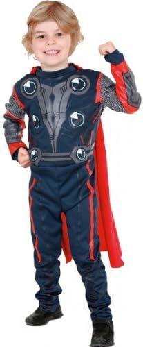 Rubies The Avengers - Disfraz de Thor para niño, talla S (3-4 años ...
