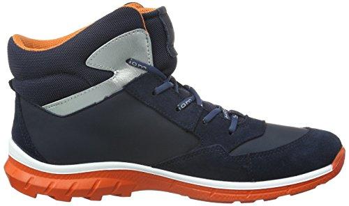 ECCO Biom Trail Kids, Zapatillas de Deporte Exterior Para Niños Azul (MARINE/MARINE/MARINE/FIRE59995)
