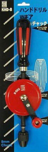 KKK ハンドドリル ダブルギア8mm KHD-8