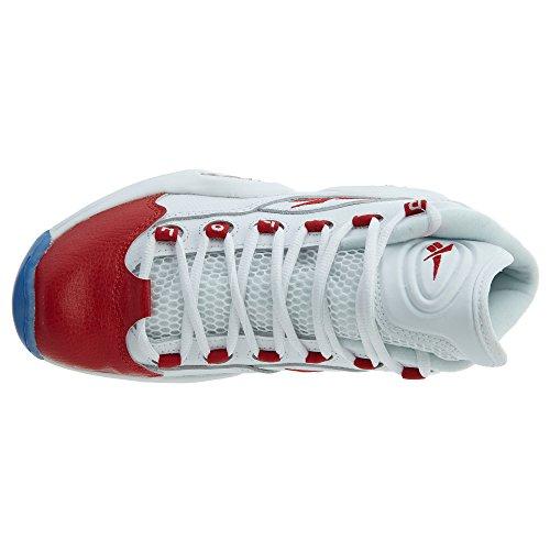 White Reebok Mid Boy's Question Shoe Top High Basketball rqrT0