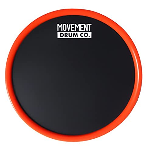 Ultra Portable Practice Pad - 6'' Drum Pad (Red) - Case Included