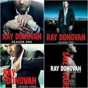 RAY DONOVAN Season 1-4 DVD Set ALL Seasons 1 2 3 4 Complete TV Series - All Ray