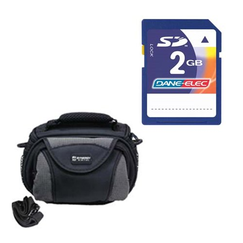 Panasonic HC-V750K Camcorder Accessory Kit includes: KSD2GB Memory Card, SDC-26 Case by Synergy Digital