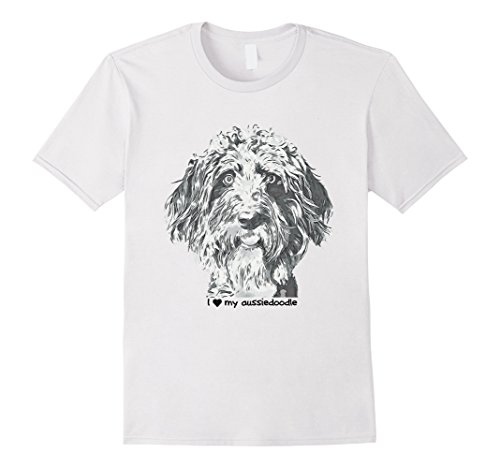 I love my aussiedoodle t-shirt