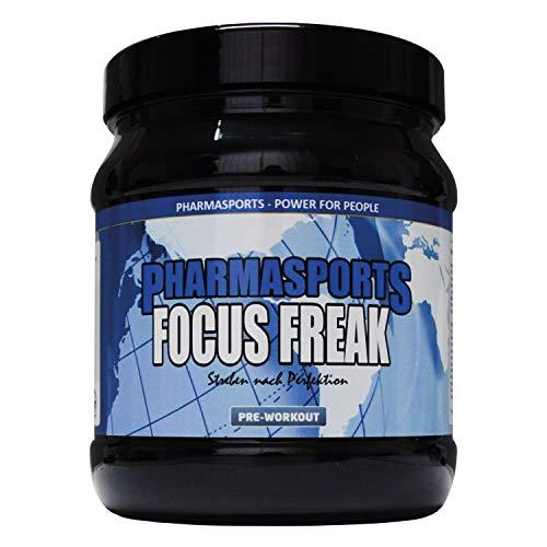 Pre-Workout Booster Fitness Pump und Fokus | Trainings-Booster Shake mit Koffein, Beta-Alanin, Guarana, CarnoSyn,Tyrosin…