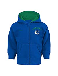 Vancouver Canucks Infant Pledge Full-Zip Fleece Hoodie