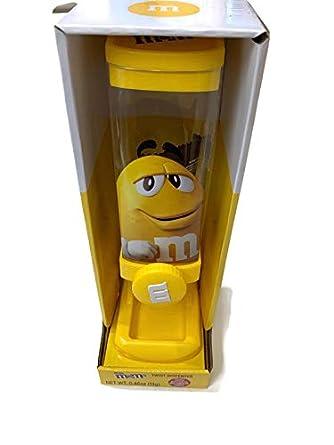 M/&Ms Yellow Peanut OR Red Milk Choc Character Twist Candy Dispenser w// Fun Size