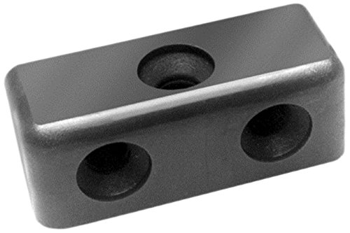 Bulk Hardware BH03416 Modesty Block Wood & Furniture Jointing Connector - Black, Pack of 100 Bulk Hardware Limited