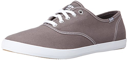 Canvas Steel Toe Sneaker Shoe (Keds Men's Champion Original Canvas Sneaker,Steel Gray,9 M US)