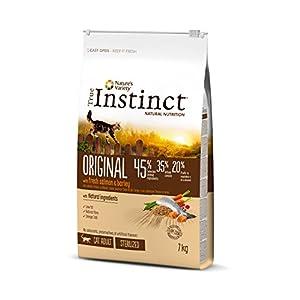 True Instinct Original – Nature's Variety – Pienso para Gato Esterilizado Adulto con Salmón y cebada – 7kg