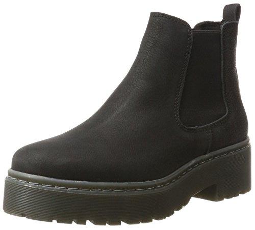 Schoen Biz Damen Beatrice Chelsea Boots Schwarz (cb Wash Zwart)