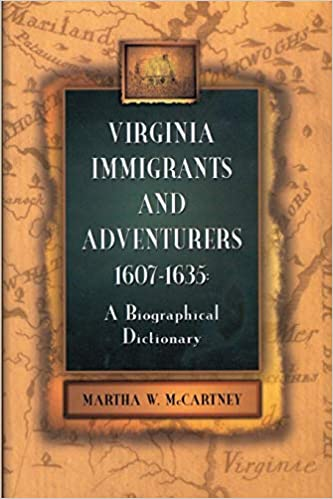 Virginia Immigrants and Adventurers