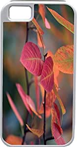 Blueberry For HTC One M9 Case Cover red Leaves - Ideal Gift