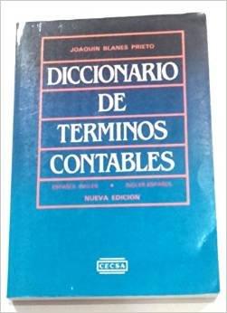 DICCIONARIO DE TERMINOS CONTABLES ESPANOL INGLES ESPANOL