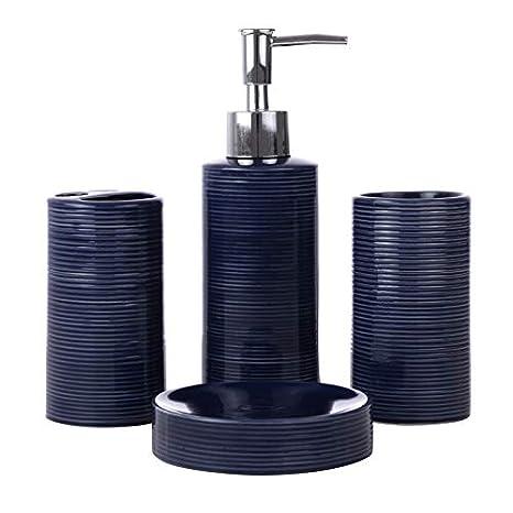 Amazon.com: Kieragrace KG Lola - Juego de accesorios de baño ...