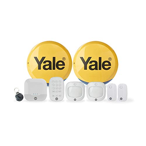 Yale IA-330 Sync Smart Home Security Alarm, 9 Piece Kit, Self Monitored, No Contract, Wireless, 200m Range, Featuring…