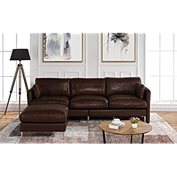 Amazon Com Elements Carlyle Top Grain Rustic Leather