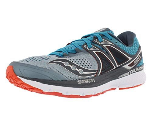 pretty nice 5f951 a9352 Saucony Men s Triumph ISO 3 Running Shoe, Grey Blue Re, 11 M US
