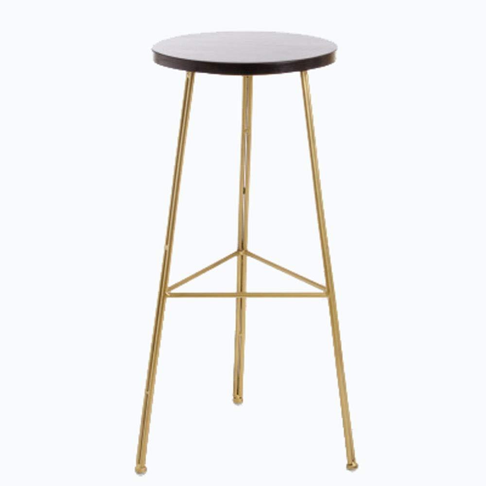 AO-stools Bar Stool Golden High Stool Modern Dining Chair Metal Wire Nordic Bar Chair Etc 35x33cm