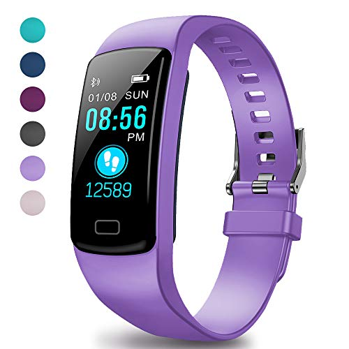 LEKOO Fitness Tracker HR, Activity Trackers Health Exercise Watch with Heart Rate Monitor and Sleep Monitor, Smart Band Calorie Counter, Step Counter, Pedometer Walking for Men Women Kids