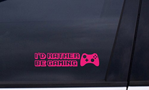 Devil May Cry Collectors (I'D RATHER BE GAMING vinyl Sticker 2