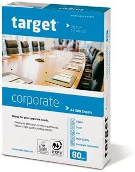 Target Corporate Copiadora Papel para impresora papel, 80 g ...