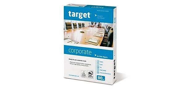 Target Corporate Copiadora Papel para impresora papel, 80 g/m², A3 ...