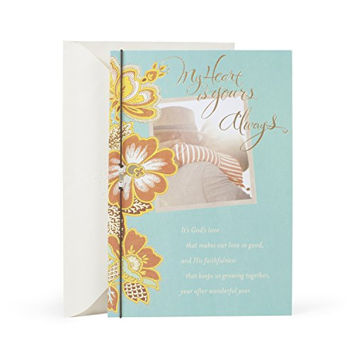Hallmark Mahogany Religious Anniversary Card for Spouse (God's Love Makes Our Love Good)