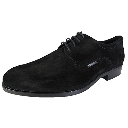 Mephisto Mens Cooper Lace Up Scarpe Derby Toe Nere In Pelle Scamosciata 3600