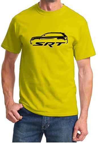 2011-16 Jeep Cherokee SRT SRT8 Classic Outline Design Tshirt 2XL yellow ()
