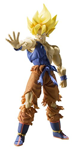 Bandai Tamashii Nations Dragon Ball Z Super Saiyan Goku Super Warrior Awakening S.H. Figuarts Action Figure