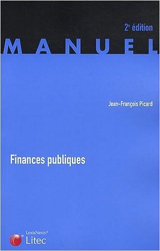 Livres Finances publiques pdf, epub ebook
