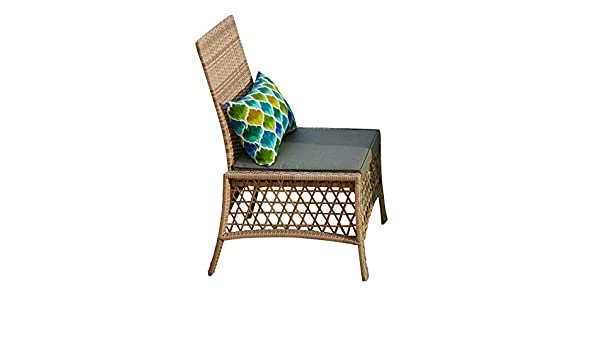 Astonishing Brylanehome Santa Rosa Resin Wicker Dining Chair Alphanode Cool Chair Designs And Ideas Alphanodeonline