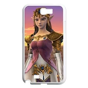 Samsung Galaxy N2 7100 Cell Phone Case White_Super Smash Bros Princess Zelda_018 Jwbda