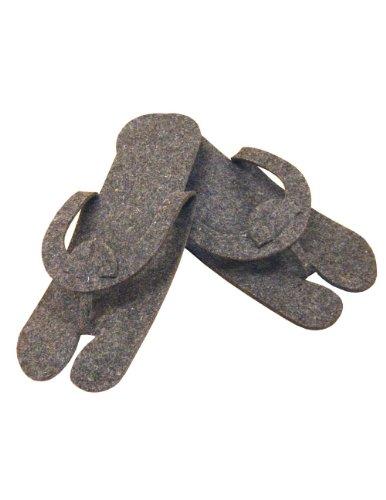 E-Z Slipper aus Filz, 4 Paar