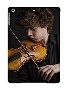 Awesome Design Boy Playing The Violin Hard Case Cover For Ipad Air(gift For Lovers)