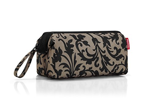 reisenthel Travelcosmetic Toiletries Bag, Structured Pouch with Wristlet, Baroque Taupe ()