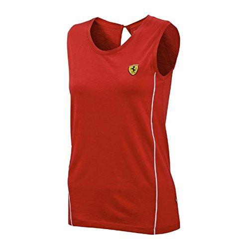 Ferrari Red Ladies Track Top - Ferrari For Women