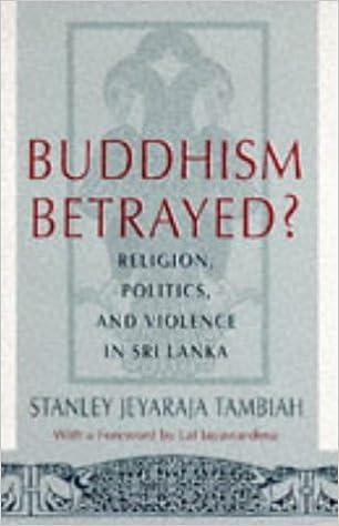 Buddhism Betrayed?: Religion, Politics, and Violence in Sri Lanka (Monograph of the World Institute for Development Economics R)