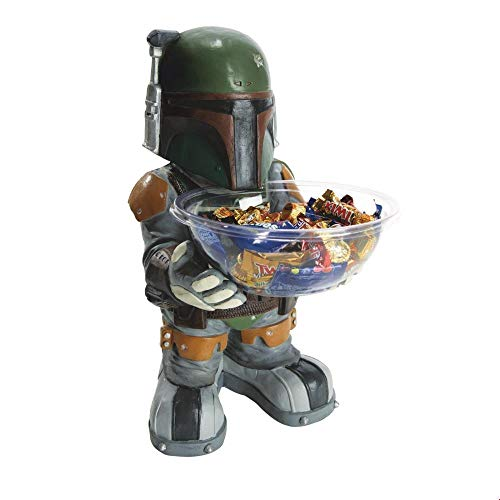 Star Wars Adult Boba Fett Candy Holder Halloween Costume Accessory]()